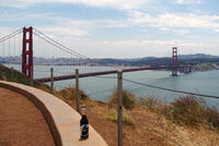 Cola.de an der Golden Gate Bridge (), Dienstag, 05. November 2013